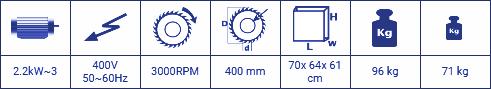 KD 350 M - PORTATİF DERECELİ KESME MAKİNESİ