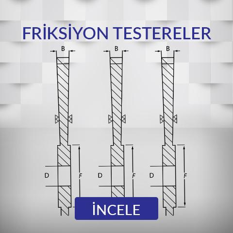 Friksiyon Testereler (CRV)