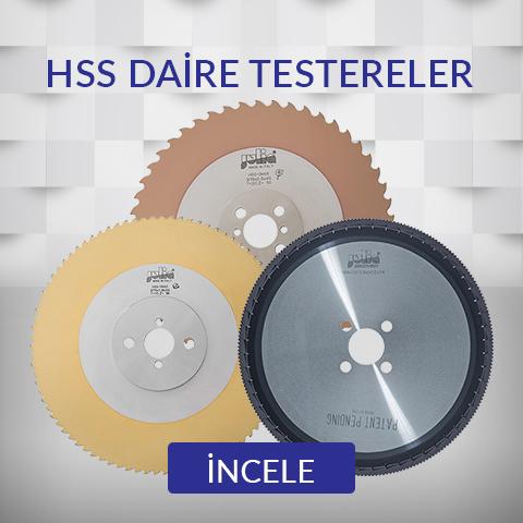 HSS Daire Testereler