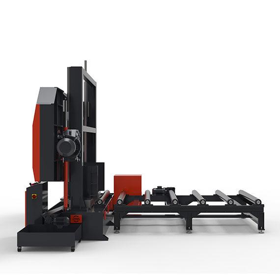 1000x1600 Yarı Otomatik Motorlu Şerit Testere Makinası