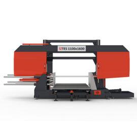 1100x1600 Yarı Otomatik Tabla Sürmeli Şerit Testere Makinası