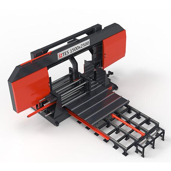 1500X2500 Yarı Otomatik Tabla Sürmeli Şerit Testere Makinesi