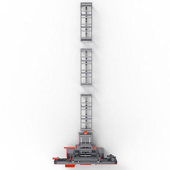550 Tam Otomatik PLC Şerit Testere Makinası
